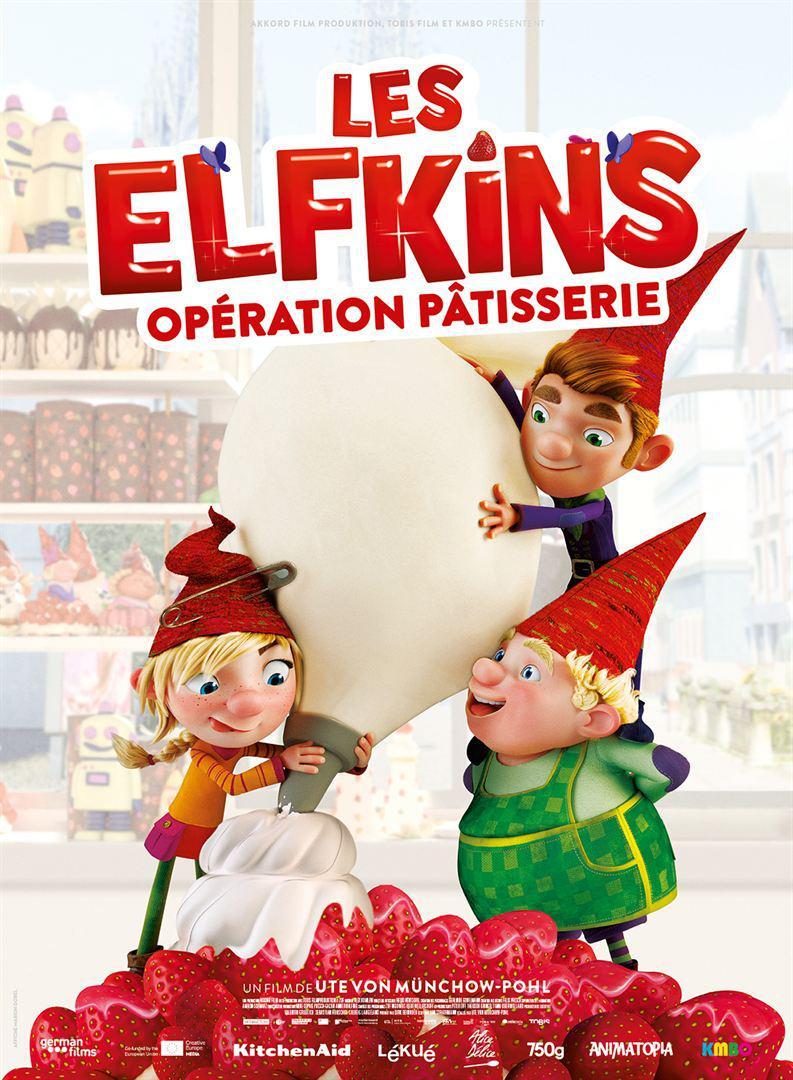 LES ELFKINS : OPERATION PATISSERIE